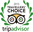 2015 Travellers Choice Trip Advisor